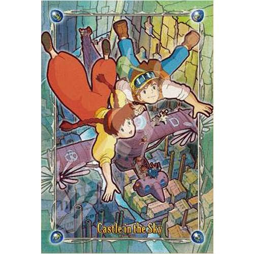 Ensky Frost Art Crystal Jigsaw Puzzle 300-AC040 Castle in the Sky (300 Pieces)