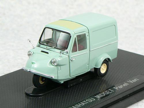Ebbro 44214 Daihatsu Midget Bang 1961 (Green) 1/43 Scale