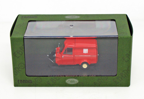 Ebbro 44215 Daihatsu Midget Post Car 1961 (Red) 1/43 Scale