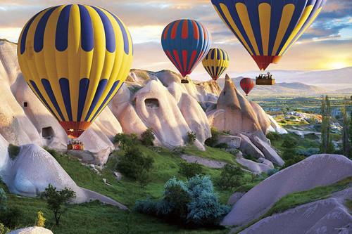 Yanoman Jigsaw Puzzle 10-1328 Cappadocia Balloon Festival Turkey (1000 Pieces)