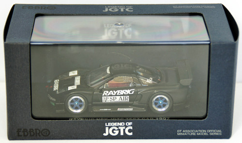 Ebbro 44225 Raybrig Nsx Jgtc 1997 Test Car (Black) 1/43 Scale
