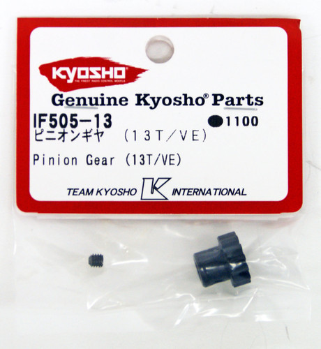 Kyosho IF505-13 Pinion Gear(13T/VE)