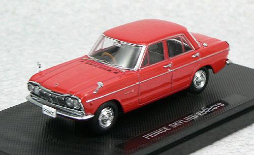 Ebbro 44237 PRINCE SKYLINE 2000GTB 1966 Red 1/43 Scale