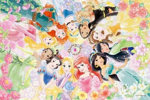 Epoch Jigsaw Puzzle Decoration 97-001 Disney Princess Floral Dream (1000 Pieces)