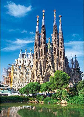 Ensky Jigsaw Puzzle 500-255 Sagrada Familia Barcelona Spain (500 Pieces)