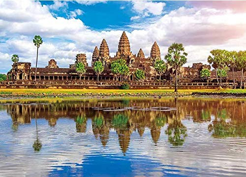 Ensky Jigsaw Puzzle 500-254 Angkor Wat Cambodia (500 Pieces)