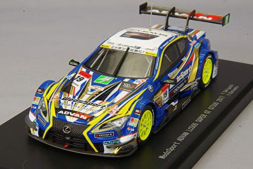 Ebbro 45524 WedsSport Advan LC500 Super GT GT500 2017 No.19 Blue 1/43 scale