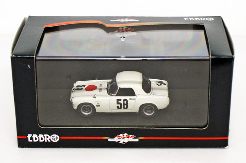 Ebbro 44250 Honda S800 Racing 1967 Nurburgring 1/43 Scale