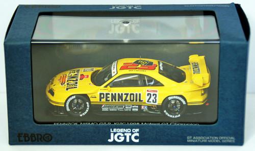 Ebbro 44251 Pennzoil Nismo GT-R Jgtc 1998 Hdf (Yellow) 1/43 Scale