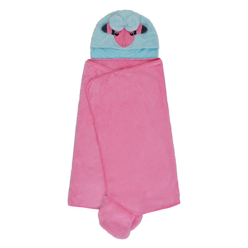 Pokemon Center Original Hoodie Blanket Mofu Mofu Paradise Flaaffy (Mokoko) 1013