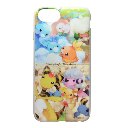 Pokemon Center Original iPhone 8/7/6s/6 Soft Jacket Altaria & Mareep 1013