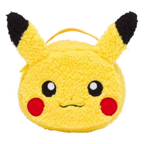 Pokemon Center Original Vanity Pouch Mofu Mofu Paradise Pikachu 1013