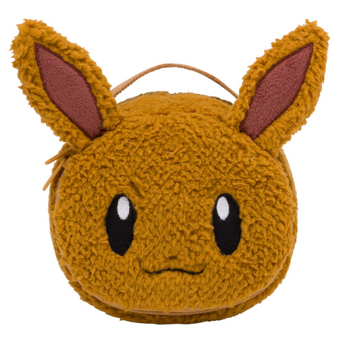 Pokemon Center Original Vanity Pouch Mofu Mofu Paradise Eevee 1013