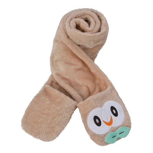 Pokemon Center Original Scarf Mofu Mofu Paradise Rowlet (Mokuroh) 1013