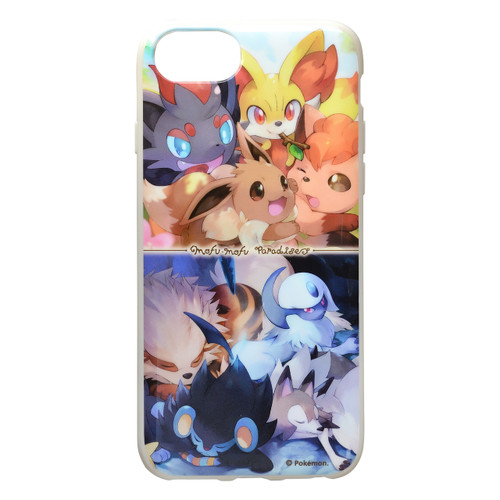 Pokemon Center Original iPhone 8/7/6s/6 Soft Jacket Eevee & Absol 1013
