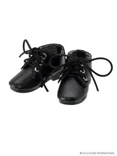 Azone AKT087-SBK 1/6 Pure Neemo S Mannish Shoes Shiny Black