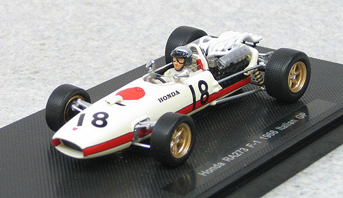 Ebbro 44261 Honda RA273 1966 Italian GP No.18 (White) 1/43 Scale
