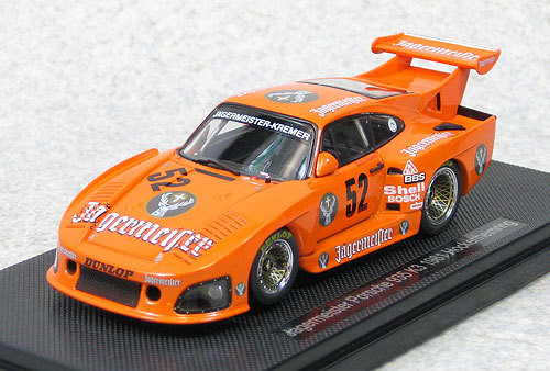 Ebbro 44303 Jagermeister Porsche 935 K3 1981 Hockenheimring (Orange) 1/43 Scale