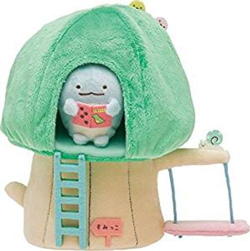 San-X Plush Doll Sumikko Gurashi Tree House Scene TJN