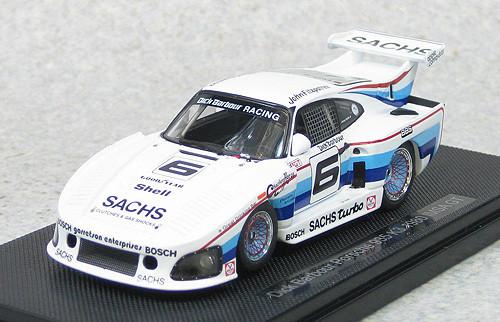 Ebbro 44304 Dick Barbour Porsche 935 K3 1980 IMSA GT (White) 1/43 Scale