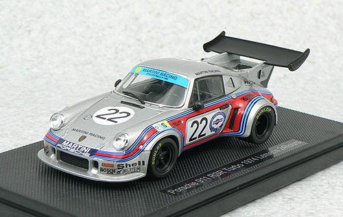 Ebbro 44308 PORSCHE 911 RSR TURBO LE MANS 1974 #22 1/43 Scale