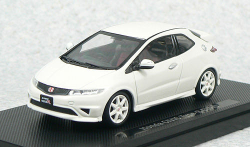 Ebbro 44309 HONDA CIVIC TYPE-R EURO Japan White 1/43 Scale
