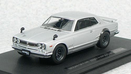 Ebbro 44311 NISSAN SKYLINE GT-R KPGC10 Silver 1/43 Scale