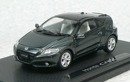 Ebbro 44322 Honda CR-Z Gun Gray 1/43 Scale