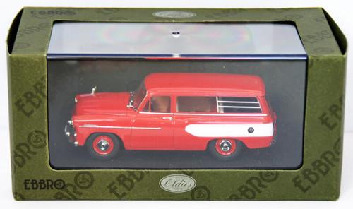 Ebbro 44340 Toyopet Masterline Light Van 1959 (Red) 1/43 Scale