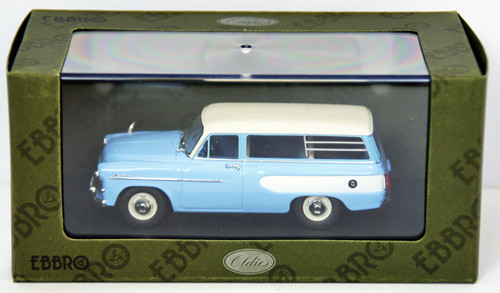 Ebbro 44341 Toyopet Masterline Light Van 1959 (L.Blue) 1/43 Scale
