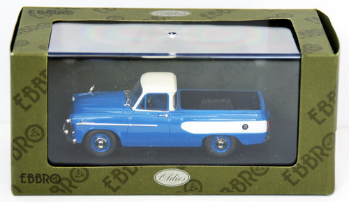 Ebbro 44343 Toyopet Masterline Pick Up 1959 (Blue) 1/43 Scale