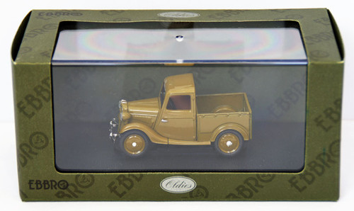 Ebbro 44349 Datsun 17 Truck 1937 (Brown) 1/43 Scale