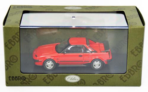 Ebbro 44403 Toyota MR-2 1984 (Red) 1/43 Scale
