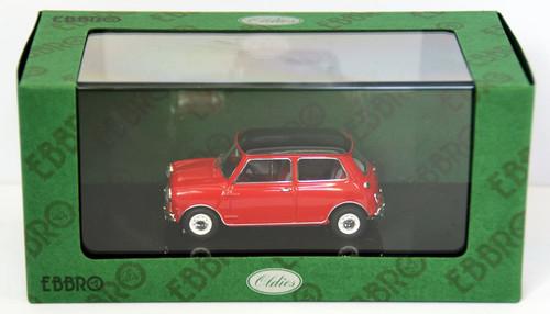 Ebbro 44409 Austin Mini Cooper (Red/Black) 1/43 Scale