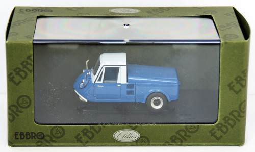 Ebbro 44411 Mazda K360 1962 With Top (Blue/White) 1/43 Scale