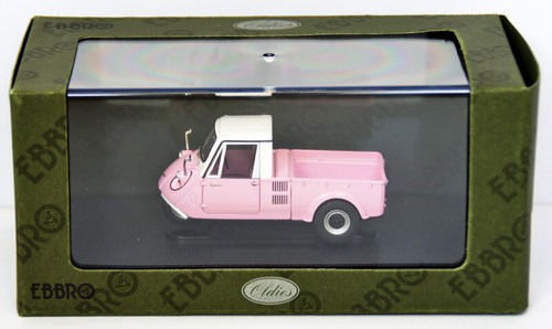 Ebbro 44412 Mazda K360 1962 (Pink/White) 1/43 Scale