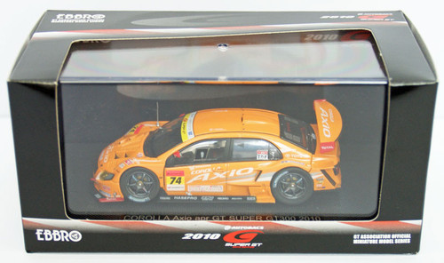 Ebbro 44435 COROLLA Axio apr GT SGT300 2010 No.74 1/43 Scale