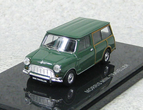 Ebbro 44501 Morris Mini Traveller (Green) 1/43 Scale