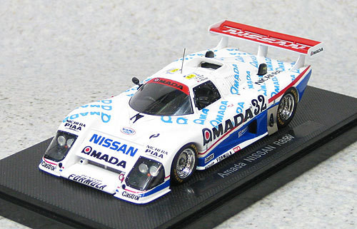 Ebbro 44508 Amada Nissan R85V (White/Blue) 1/43 Scale