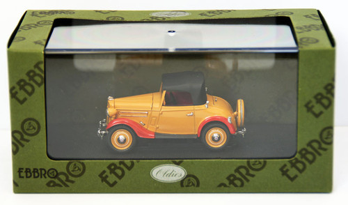 Ebbro 44536 Datsun 17 Roadstar 1938 (Brown) 1/43 Scale
