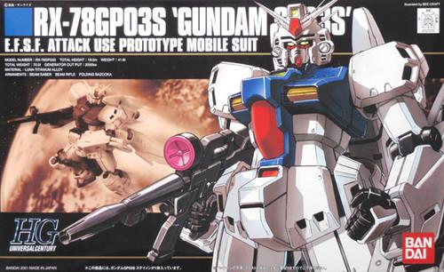 Bandai HGUC 025 Gundam RX-78GP03S GP03S 1/144  Scale Kit