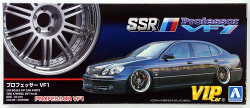 Aoshima 46432 Professor VF1 20 inch Wheel & Tire Set 1/24 Scale Kit