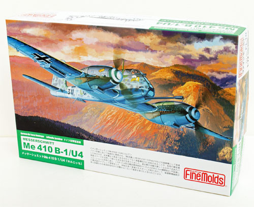 Fine Molds FL10 German Messerschmitt Me 410 B-1/U4 1/72 Scale Kit