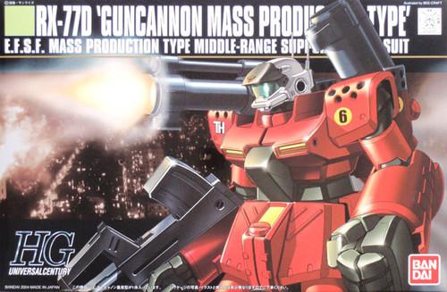 Bandai HGUC 044 Gundam RX-77D GUNCANNON 1/144 Scale Kit