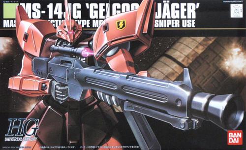 Bandai HGUC 045 Gundam MS-14JG GELGOOG JAGER 1/144 Scale Kit