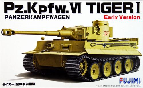 Fujimi 72M7 German Pz.Kpfw VI Tiger I Early Version 1/72 Scale Kit