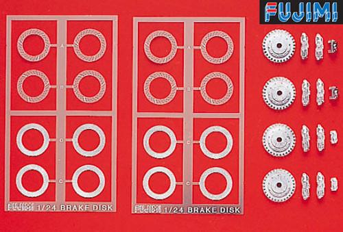 Fujimi Dup17 110226 Detail Up Series Brake Disc Set 1/24 Scale