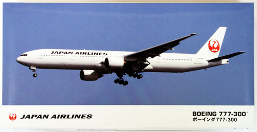 Hasegawa 15 JAL Japan Airlines Boeing 777-300 (New Marking) 1/200 Scale Kit