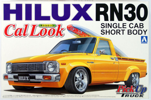 Aoshima 27783 Toyota Hilux RN30 Cal Look (Pick Up Truck) 1/24 Scale Kit