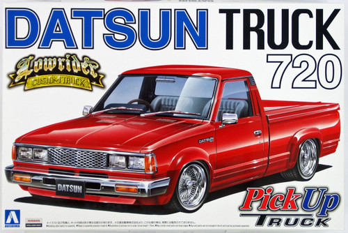Aoshima 27790 Datsun Truck 720 Lowrider (Pick Up Truck) 1/24 Scale Kit